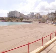 Sand replenishment